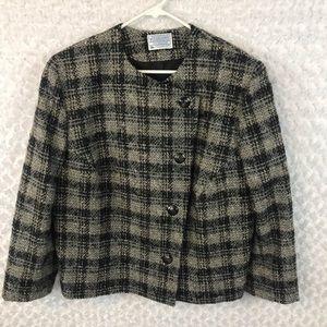 Pendleton Vintage Virgin Wool Plaid Coat